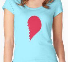 Broken Heart Right Women's Fitted Scoop T-Shirt