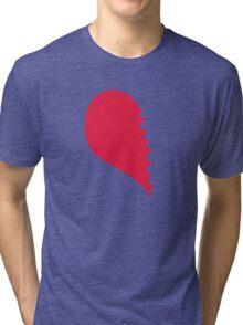 Broken Heart  Left Tri-blend T-Shirt
