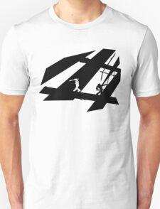 White and Black Shinobis Unisex T-Shirt