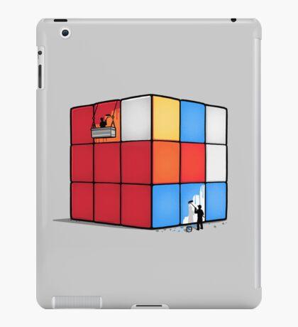Solving the cube iPad Case/Skin