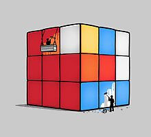 Solving the cube by Naolito