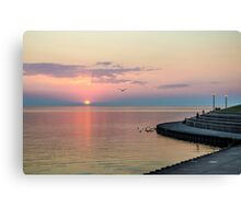 Lake Michigan Sunrise Canvas Print