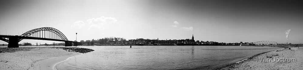 The Bridge (Nijmegen, The Netherlands) by VanOostrum