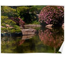 Spring in the Japanese Garden Poster