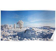 Winter on Rannoch Moor - 02 Poster