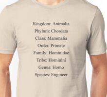 Biological Classification Engineer Unisex T-Shirt