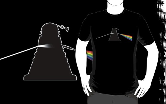 Dalek Side of the Moon - T shirt by BlueShift