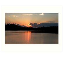 Canada - Cottage Country, Lake of Bays, Muskoka Art Print