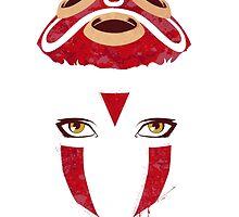 Mononoke Mask by ItokoDesign