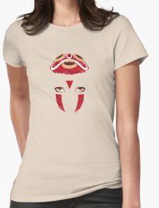 Mononoke Mask Womens Fitted T-Shirt