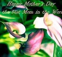 Happy mothers day greeting card by Eti Reid