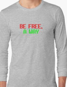 The Flaming Lips - The Terror - Be Free, A Way Long Sleeve T-Shirt