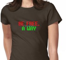 The Flaming Lips - The Terror - Be Free, A Way Womens Fitted T-Shirt