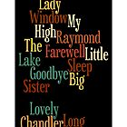 RAYMOND CHANDLER - PHILIP MARLOWE by Luckyman