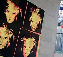 Andy Warhol On Andy Warhol by Cora Wandel