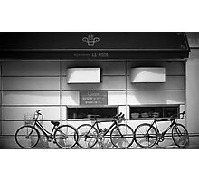 Bicycles in the Sun Photographic Print