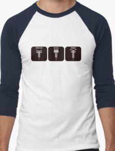 Velodrome City Icon Series V2 no.3 Men's Baseball ¾ T-Shirt