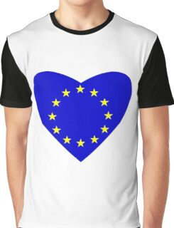 Love Europe Graphic T-Shirt