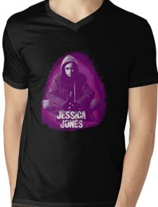 Jessica Jones Mens V-Neck T-Shirt