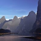 Li River Karsts by phil decocco