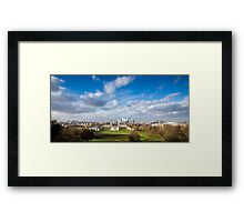 London View from Greenwich Park Framed Print