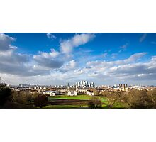 London View from Greenwich Park Photographic Print