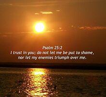 """Psalm 25 2 by Scott """"Bubba"""" Brookshire"""