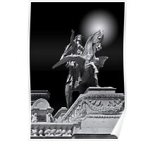 Winged horse Poster