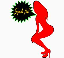 ★ټSpank Me-Naughty Bewitching Woman on Stiletto Heels Clothing & Stickersټ★ Men's Baseball ¾ T-Shirt