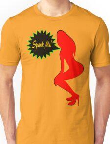 ★ټSpank Me-Naughty Bewitching Woman on Stiletto Heels Clothing & Stickersټ★ Unisex T-Shirt