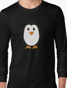 Cute Penguin Long Sleeve T-Shirt