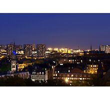 Glasgow West End Skyline Photographic Print