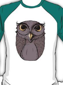 The Owl - Vector Illustration T-Shirt