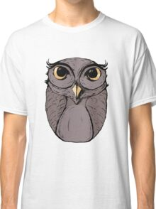 The Owl - Vector Illustration Classic T-Shirt