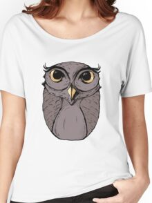 The Owl - Vector Illustration Women's Relaxed Fit T-Shirt
