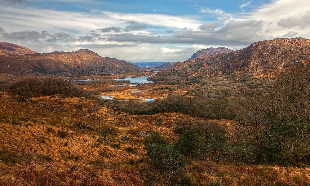 Ladies' View, Ireland by benny2324
