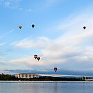 Canberra Balloon Festival by Paul Dean