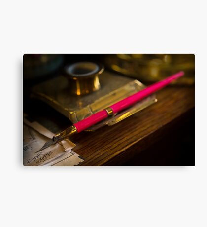 A Quill Canvas Print