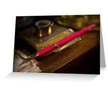 A Quill Greeting Card