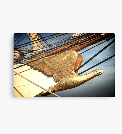 Eagle Masthead Canvas Print