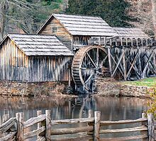 The Mabry Mill, Blue Ridge Parkway - Virginia by Gregory Ballos | gregoryballosphoto.com