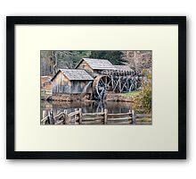 The Mabry Mill, Blue Ridge Parkway - Virginia Framed Print