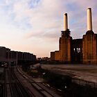 Battersea Power Station Sunset by Mattia  Bicchi Photography