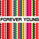 Forever Young - Aztec Pattern by Orna Artzi