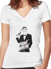 Point Break Movie 1 Women's Fitted V-Neck T-Shirt