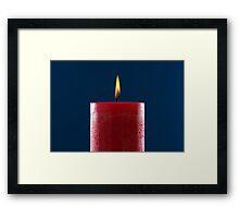 Jubilee Candle Framed Print