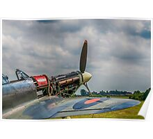 Covers Off Hawker Hurricane Poster