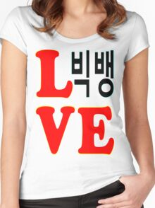 ㋡♥♫Love BigBang K-Pop Clothes & Stickers♪♥㋡ Women's Fitted Scoop T-Shirt