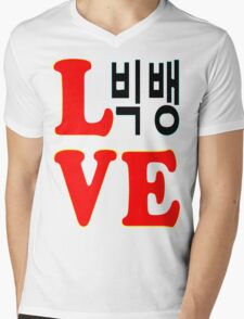 ㋡♥♫Love BigBang K-Pop Clothes & Stickers♪♥㋡ Mens V-Neck T-Shirt