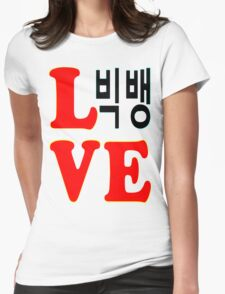 ㋡♥♫Love BigBang K-Pop Clothes & Stickers♪♥㋡ Womens Fitted T-Shirt